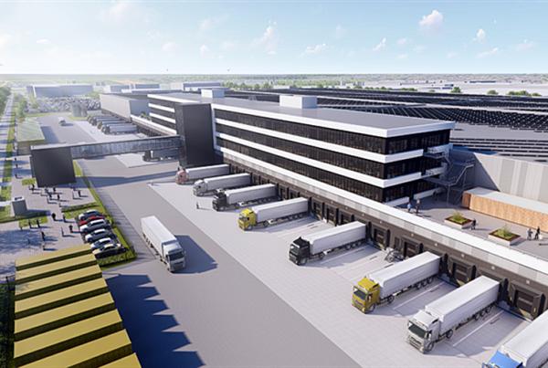 Somerset en USAA Realco ontwikkelen mega DC Zalando