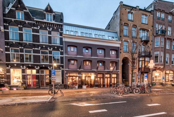Voormalig houthandel wordt Vondel Hotel van de Vijsel